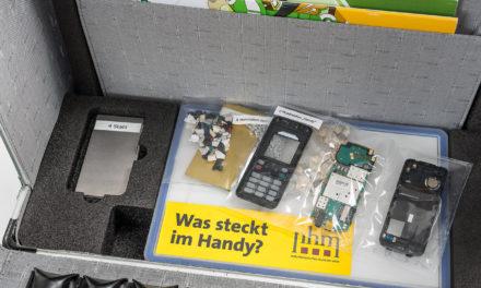 Der EAG-und Altbatterien- Schulkoffer besteht ersten Praxistest mit Bravour