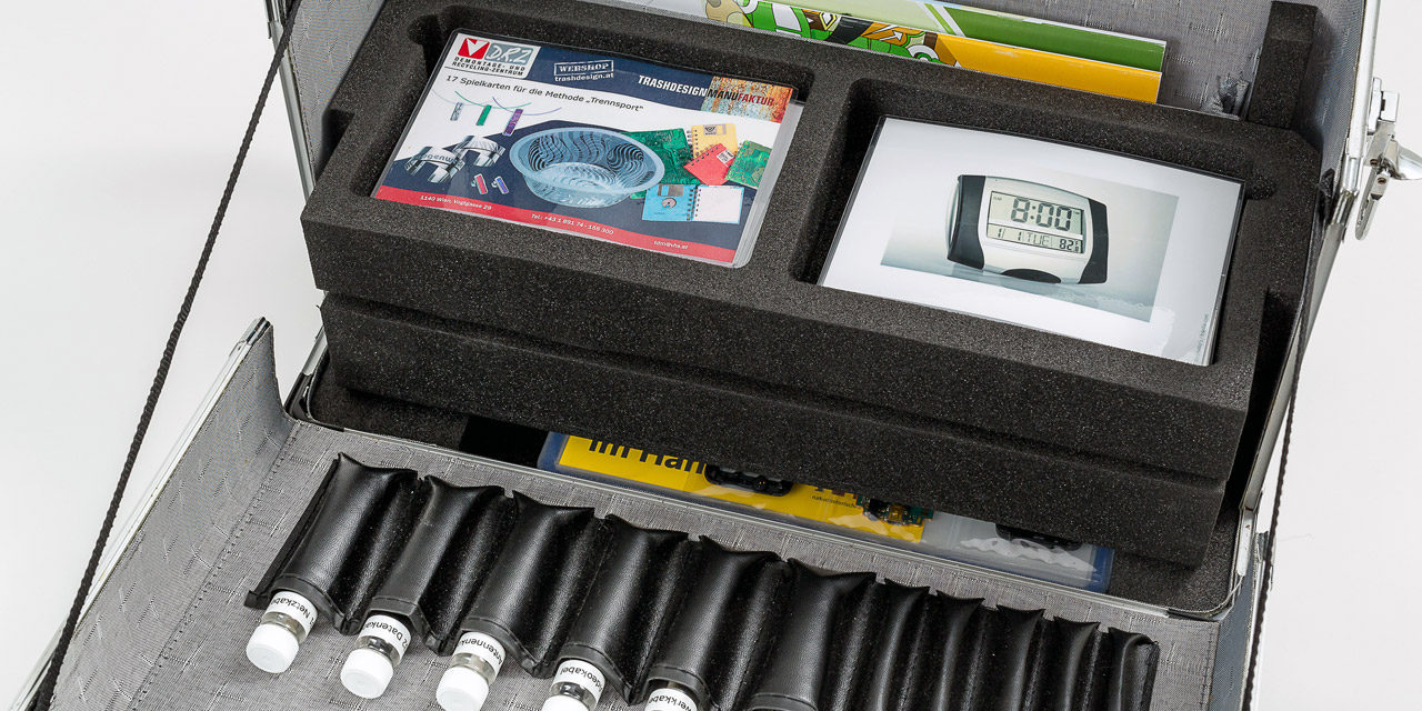 Der Schulkoffer wird ab April 2015 auch bei der heimischen Lehrerausbildung eingesetzt