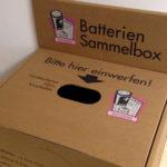 (Lithium-)Gerätealtbatterien-Sammlung