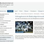 Erweiterter Geltungsbereich Elektroaltgeräte