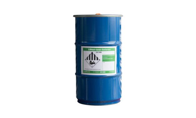 Überprüfung der Sammelstellenausstattung 2019 mit besonderem Augenmerk auf die Gebinde für die Lithium-Batterien Sammlung