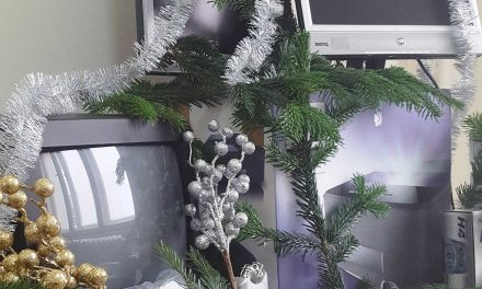 Weihnachten steht vor der Tür
